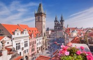 Duke shëtitur nëpër Pragë